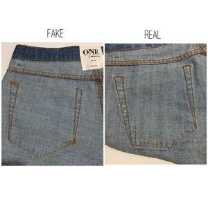 a9ef105cef8d One Teaspoon Shorts - ONE TEASPOON SHORTS  FAKE VS REAL