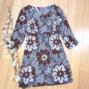 BODEN brown and gray dress, 2.