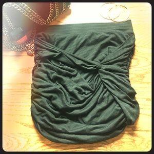 FREE PEOPLE Black Cotton skirt Size XS 