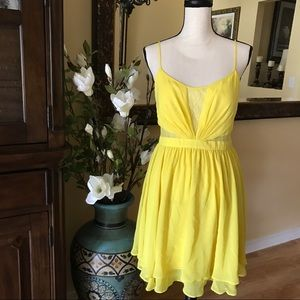 Hailey Logan Dresses & Skirts - Hailey by Adrianna Papell Yellow Dress 8