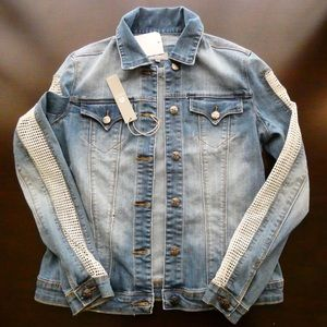 Tractr Jackets & Blazers - New With Tags Tractr Denim Jacket size XS