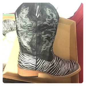 Roper Shoes - Women Roper Cowgirl Boots