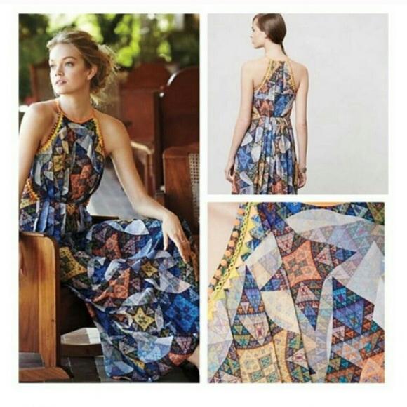 0d5497027ce2 Anthropologie Dresses | Ranna Gill Condesa Maxi Dress | Poshmark