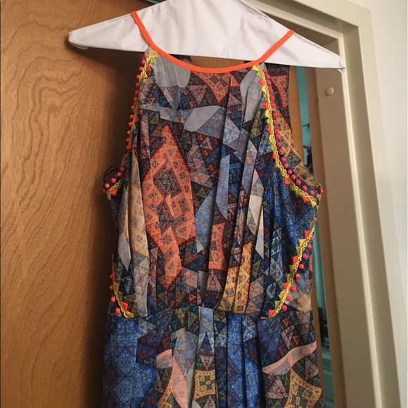 45 off anthropologie dresses skirts anthropologie for Anthropologie mural maxi dress