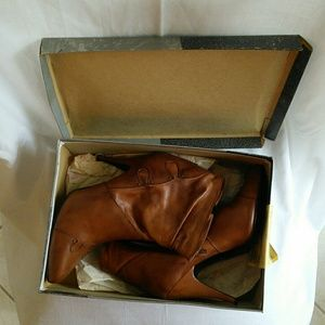 Wild Pair Shoes - Leather boots with original box