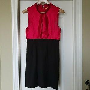Alice + Olivia Dresses & Skirts - Alice + Olivia Jarbot Silk Wool Belted Dress