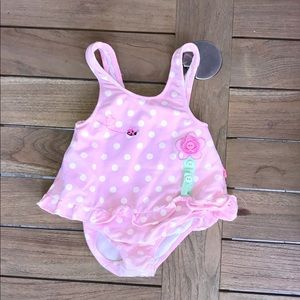 Le Top Other - Le Top Sz18m pink w/ dots ladybug 1 piece swimsuit