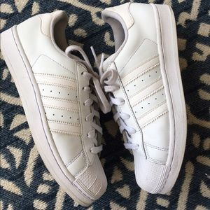 Adidas Other - Adidas Superstar White Sneakers