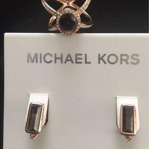 Michael Kors Jewelry - Michael Kors-set Earrings and Ring-Bundle