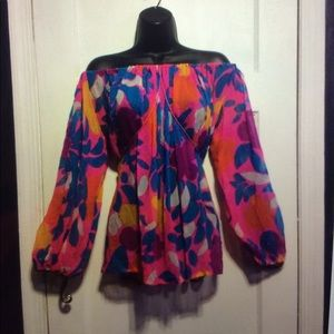 Yves Saint Laurent Tops - Saint Laurent vintage Rive Gauche Silk Top