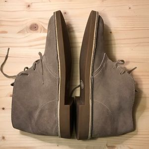 Clarks Other - CLARKS Bushacre Suede Chukka Boots