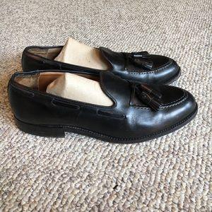 Alden Other - Alden Black leather tassel loafer shoes size 9