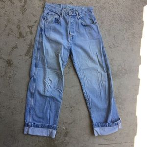 Acquaverde Stonewash Boyfriend Jeans