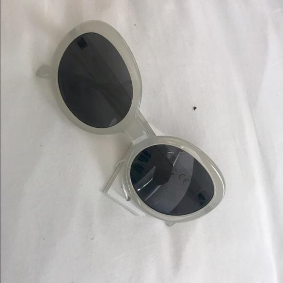 9374a2d09295 Accessories | Cheap Monday Round White Sunglasses | Poshmark