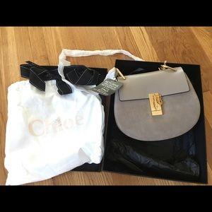 Chloe Handbags - NWT Authentic Chloe Drew Bag (Small) in Gray