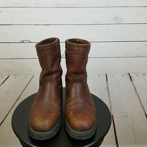 Sorel Other - Sorel Mens Boots 8 1/2 Medium Brown Zip Side
