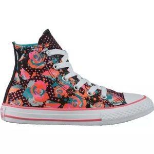Converse Shoes - 💐 Converse floral womens shoes hi tops