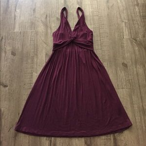 Delia*s Dresses & Skirts - Delia's Twist Dress in Plum