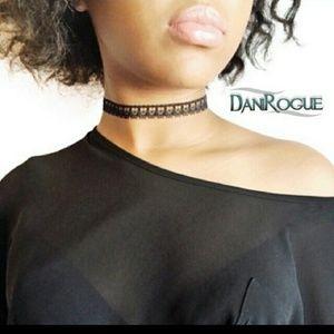 Dani Rogue Accessories - Crochet Lace Choker