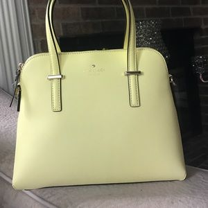 Yellow Kate Spade Purse Brand New
