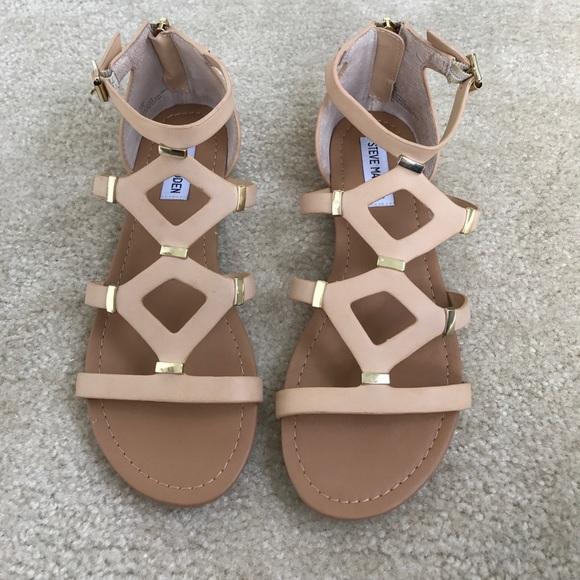 3f82e824669 Steve Madden Cael Gladiator Sandals. M 5907a67c4e8d1794070fd54a