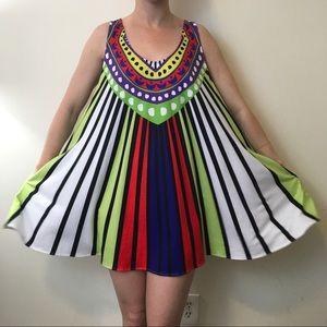 Mara Hoffman Dresses & Skirts - Mara Hoffman Swim Watermelon Striped Circle Dress