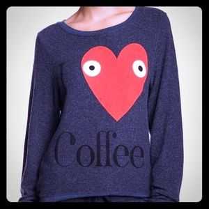 Wildfox 'I ❤️ Coffee' sweatshirt