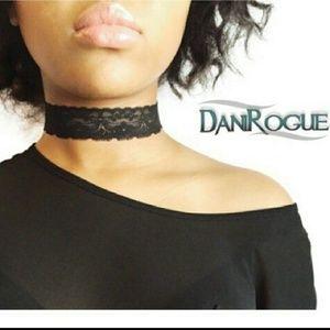 Dani Rogue Accessories - Stretch Lace Choker