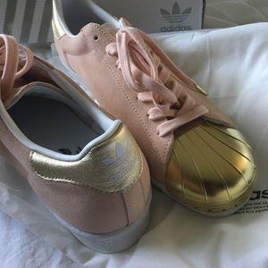 Adidas Shoes - Adidas custom Superstar 80s - Woman's 11 NEW