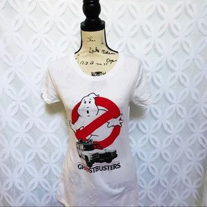 Hybrid Tops - Ghostbusters Ecto-1 Who you Gonna Call Tee