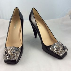 Authentic Prada High Heel Pumps