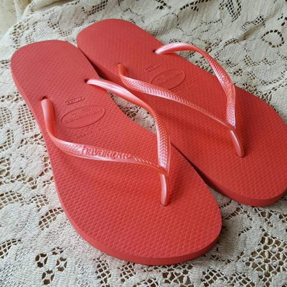 cb8911843f886 Havaianas SLIM lite red flip flops 9 10 41 42