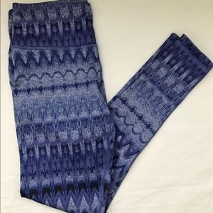 90 Degree By Reflex Pants - Reversible workout pants-2 for 1!