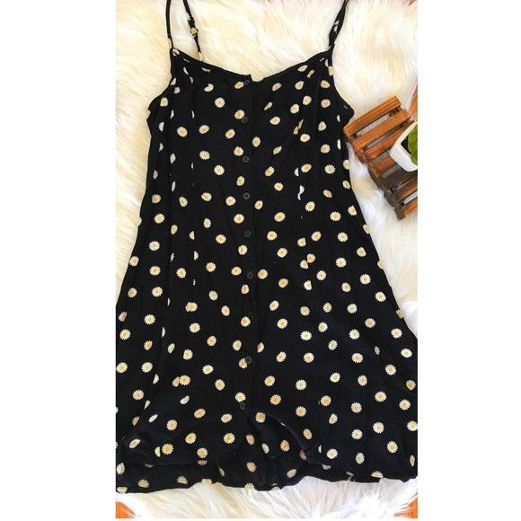 H&M Dresses | Hm Sunflower Babydoll Dress | Poshmark