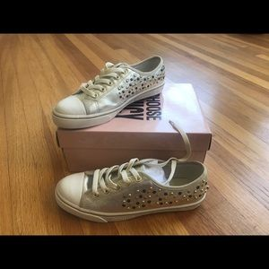 NEW studded Juicy Couture sneakers