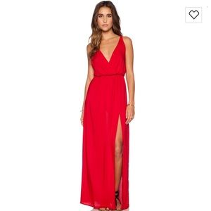 """Blue Life Dresses & Skirts - Blue life """"high tide"""" maxi dress in red"""