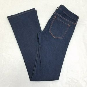 Banana Republic Bootcut Dark Wash Blue Jeans K13