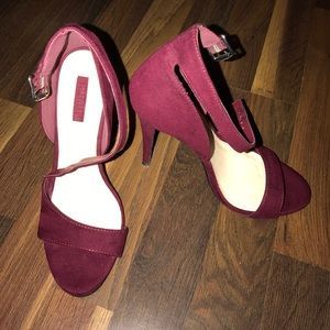 Forever 21 Ankle Strap Heels