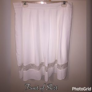 Simply Be Dresses & Skirts - NWT Simply Be White Skirt