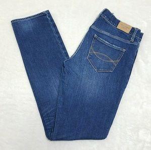 A&F Perfect Stretch 4R Light Faded Skinny Jeans I7