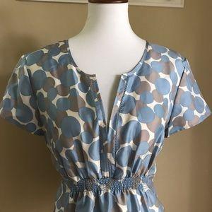 Boden Tops - Boden polka dot blouse NWT