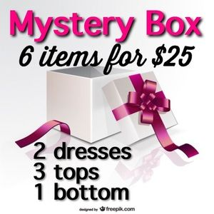 Other - MYSTERY Box! 6 items! (Plus Sizes coming soon)