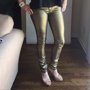 Almost Famous Denim - Gold Almost Famous Skinny Jeans