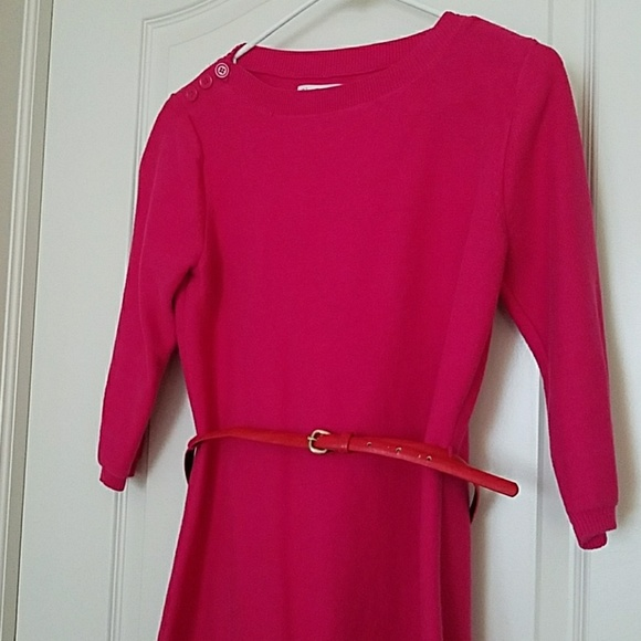 55 calvin klein dresses skirts ck pink belted