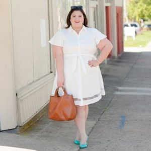 Christian Siriano for Lane Bryant shirt dress