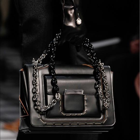d8c790efcd57 Balenciaga Bags | Fallwinter Black Flap Bag Bucket Chain | Poshmark