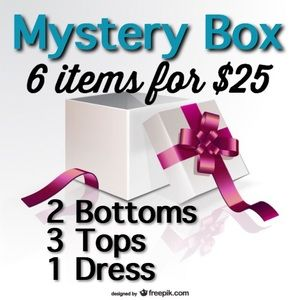 Other - Mystery Box- 6 items (Plus Sizes coming soon)