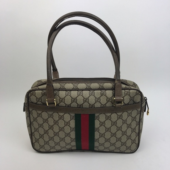 7ef1cecd6b6ed0 Vintage Gucci Shoulder Bag Brown | Stanford Center for Opportunity ...