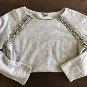 Stunning Jeweled Sweatshirt