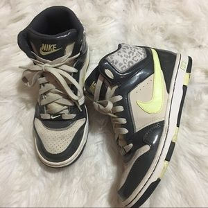 Nike high tops leopard print